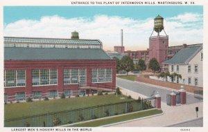 MARTINSBURG , West Virginia, 1900-10s ; Interwoven Mills