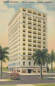 MIAMI , Florida, 1930-40s; Hotel Alcazar