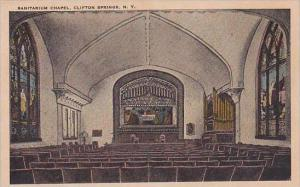 New York Clifton Springs Sanitarium Chapel