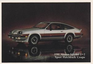 1980 Monza Spyder 2+2 Sport Hatchback Coupe, Chevrolet