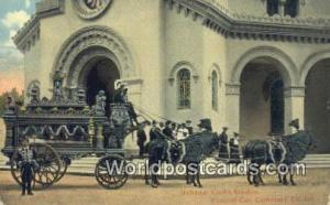 Habana Republic of Cuba Coche Funebre, Funeral Car, Cemetery Church  Coche Fu...