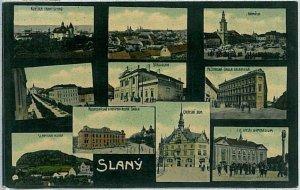 VINTAGE POSTCARD:  CZECH REPUBLIC - Slaný  Schlan 1909