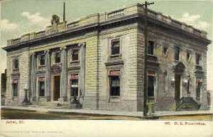 Post Office - Joliet, Illinois IL