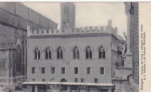 Palazzo Dei Notai E Dettaglio Della Chiesa Di S. Petronio E Del Palazzo Munic...
