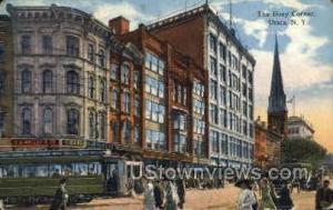 The Busy Corner Utica NY 1915