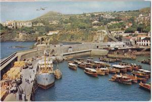 Portugal, MADEIRA, Vista Oeste do Molhe da Pontinha, unused Postcard