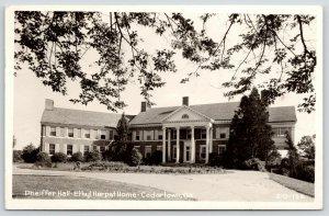 Cedartown Georgia~Ethel Harpst Home~Pheiffer Hall~Orphanage~1949 RPPC