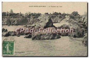 Postcard Old St Marc sur Mer The Lion Rock