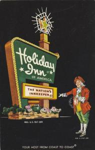 Holiday Inn Logo, ALEENTOWN , Pennsylvania , 40-60s