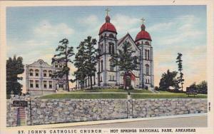 Saint John's Catholic Church Hot Springs National Park Arkansas