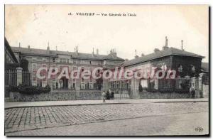 Postcard Old Villejuif Vue Generale De I'Asile