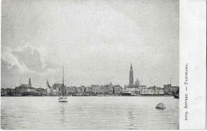 Belgium Anvers panorama Antwerpen 01.18