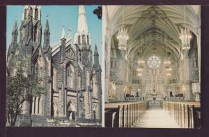 St Dunstan Basilica Charlottetown PEI Canada Post Card 3557