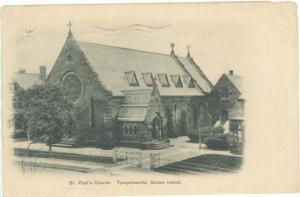 ST. PAUL'S CHURCH, TOMPKINSVILLE STATEN ISLAND NY