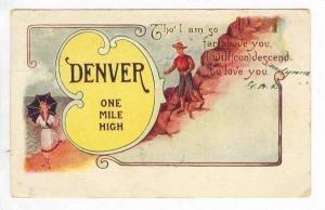 Poem,Greetings From Denver,Colorado,PU-1906