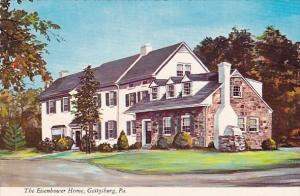 Pennsylvania Gettysburg The Eisenhower Home Bordering The Nations Greatest Hi...