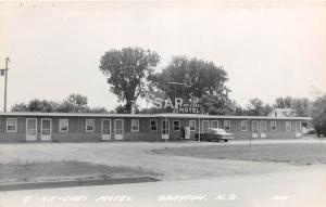 B55/ Drayton North Dakota ND Real Photo RPPC Postcard 1964 G-Ra-Ches Motel Auto