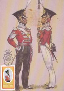 Miltary Sergeant-Major and Private Full Dress Summer and Winter 98th Regiment...
