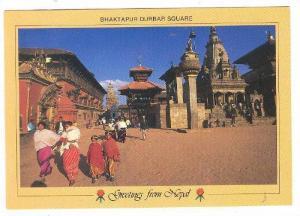 Bhaktapur Durbar Square , NEPAL , 70-80s