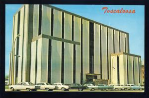 Tuscaloosa, Alabama/AL Postcard, County Courthouse, Old Cars