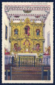 Serra Chapel San Juan Capistrano California unused c1934