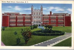 Senior High School, Amsterdam, New York z6