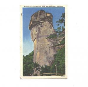 Sunset View, Chimney Rock, North Carolina, Used 1949