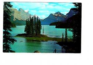 Maligne Lake, Jasper Park, Alberta,