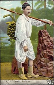 portugal, MADEIRA, Banana Carrier, Costumes (1910s)