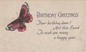 BIRTHDAY : Butterfly , 00-10s
