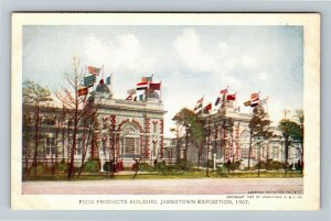Jamestown Exposition 1907 No. 186 Food Products Building - Official Postcard