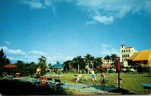 Florida Punta Gorda Hotel Charlotte Harbor Playing Shuffleboard