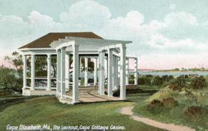ME - Cape Elizabeth. The Lookout, Cape Cottage Casino