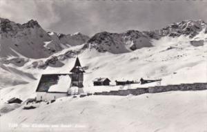 Switzerland Das Kirchlein Von Inner-Arosa 1959 Real Photo