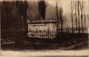 CPA Ermenonville- Tombeau de J.J. Rousseau FRANCE (1020481)
