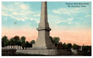 Connecticut South Coventry , Nathan Hale Monument