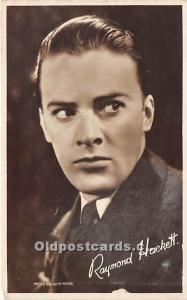 Raymond Hackett Theater Actor / Actress Unused
