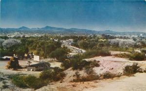 Autos Highway 60-7-89 1940s Wickenburg Arizona Postcard Roberts 242