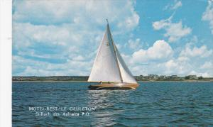 Sail Boat, Motel-Restaurant Le Geuleton, St. Roch des Aulnaies, Province of...