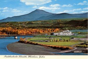 Canada - Yukon Territory, Whitehorse. Paddlewheeler Klondike  ship
