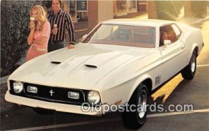 1972 Mustang Mach 1 2-Door Sportsroof Ford Auto, Car Unused