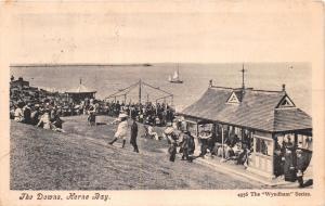 HERNE BAY KENT UK THE DOWNS~GAZEBOS~BAY WYNDHAM SERIES #4956  POSTCARD 1905 PM