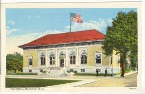 Post Office,Newberry,South Carolina,20-40s