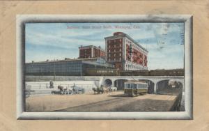 WINNIPEG , Manitoba, 1911 ; Subway , Main Street north
