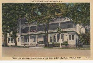 Jarrett Springs Hotel , DILLSBORO , North Carolina , 30-40s