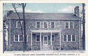 South Carolina Tamassee Illinios Cottage Boys Dormitory Tamassee D A R School