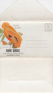 BROOKFIELD, Illinois,30-50s; Folder of Rare Birds of the Chicago Zoological Park