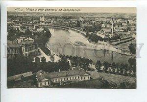3183181 Lithuania Vilnius view fr Castle Hill Vintage postcard