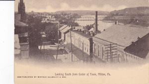 MILTON, Pennsylvania, 00-10s ;  Lookin South from Center of Town