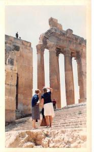 Baalbek, Lebanon Postcard, Carte Postale Temple of Bacchus, Roman god of Wine...